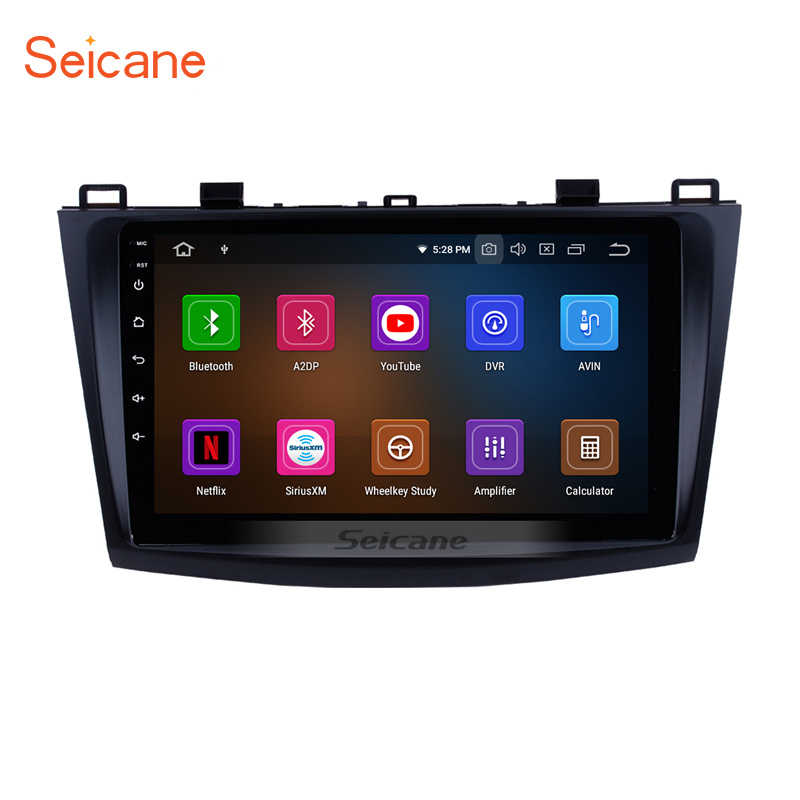 Seicane 9 inch Car Multimedia Player For 2009 2010 2011 2012 Mazda 3 Axela HD Touch Screen Android 9.0  GPS Navigation System