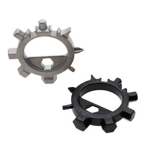 Screwdriver Edc-Tool Bicycle-Adjust-Tools Multi-Functional Stainless-Steel 1set Bottle-Opener