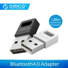 Orico usb Bluetooth 4.0 Dongle Adapter do komputer stancjonarny bezprzewodowa mysz Joystick muzyka Bluetooth odbiornik audio nadajnik(China)