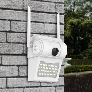 Image 2 - 1080P Esterna del IP di WiFi Della Macchina Fotografica Senza Fili 48 HA CONDOTTO LA Luce IR Audio Video IP66 Impermeabile Giardino di Casa CCTV di Sicurezza Cortile di monitoraggio