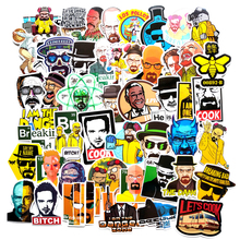 TD ZW 50 Pcs/lot Breaking Bad Classic American Drama Stickers For Laptop Car Luggage Motorcycle PVC Waterproof Decal Sticker
