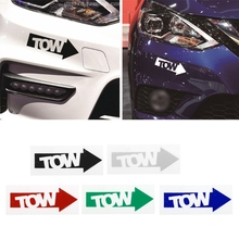 1 Pc Neue Auto Tow Haken Pfeil Auto Aufkleber Aufkleber Vinyl Rennen Drift Stance Illest 240sx Track