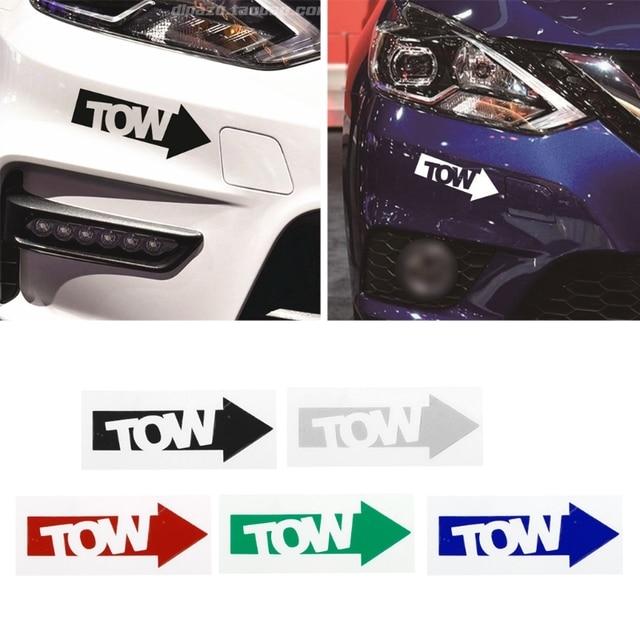 1 Pc New Auto Tow Hook Arrow Car Sticker Decal Vinyl Race Drift Stance Illest 240sx Track