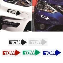 1 adet yeni otomatik çekme kancası ok araba Sticker çıkartma vinil yarış Drift duruş Illest 240sx parça