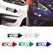 1 шт., Новый автоматический буксирный крюк, автомобильная наклейка со стрелками, Виниловая наклейка, гоночный дрейф, Stance Illest 240sx Track