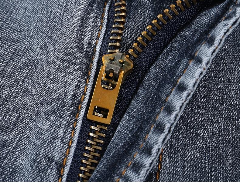 KSTUN New Arrivals Mens Jeans Brand Slim Straight Regular Fit  Stretch 2020 Summer Denim Pants Jeans Men Vintage Cowboys Top Quality 15