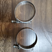 81-89mm heavy duty stainless steel clamps 2pcs