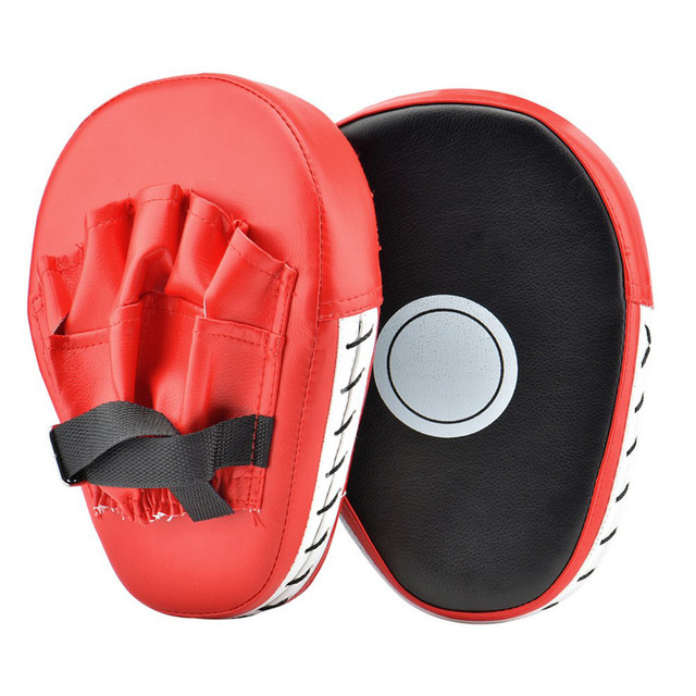 2pcs Focus Boxing Punch Mitts Training Pad for MMA Karate Muay Thai Kick Palm Pad Hook Jab Strike Pads Target Mitt Glove 2