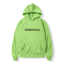 Fast delivery Hooded Sweatshirts Oversized hoodie Sweatshirt Reflective Letters Printing Fleece One Piece No fade 3XL Essential