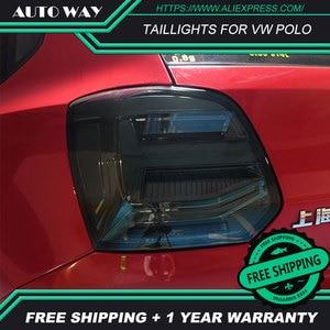 Image 2 - Auto Styling rückleuchten fall für VW Polo rückleuchten 2011 2017 Polo rücklicht LED Rücklicht polo rückleuchten hinten stamm lampe