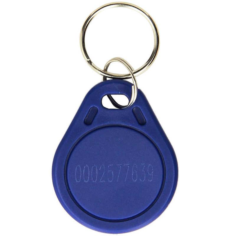 10 ชิ้น/ล็อตEM4100 125KHz RFID Keyfobกันน้ำABS Proximity TK4100 ชิปKey TagsสำหรับAccess Controlประตูล็อค
