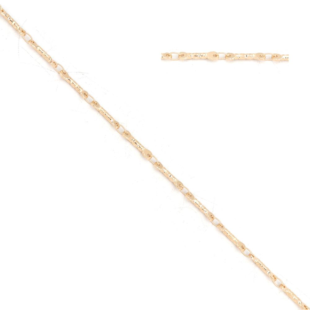8Seasons Fashion Iron Based Alloy Link Chain Gold/Silver Strip Style DIY Fashion Gift Jewelry Findings 12x3mm( 4/<font><b>8</b></font>