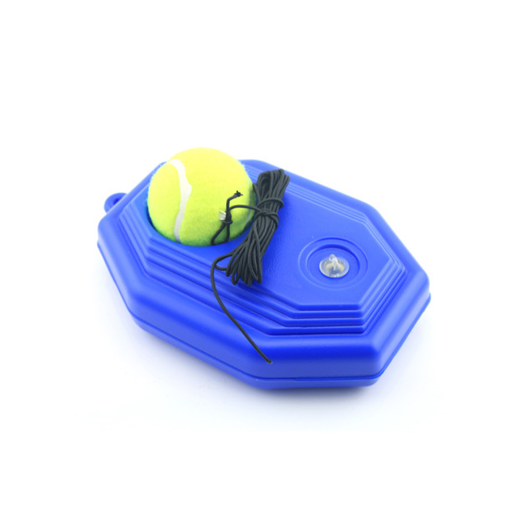 Training Tool Exercise Tennis Ball With Tennis Trainer Baseboard Elastic Rope Rebound Ball Sparring Device Tennis Trainer