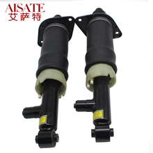Pair Rear Air Ride Strut Shock Absorber Pneumatic Suspension  For Audi A6 C5 4B Gas Damper 4Z7616019A 4Z7616020A