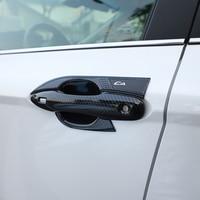 CAR MANGO For Toyota Camry XV70 2018 Car Auto Door bowl Patch trim StickerAccessories