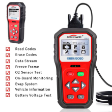 Car Diagnostic Scanner OBDII ODB2 EOBD Battery Tester 12V Automotive Code Reader Tool 6 Language Choice Car Inspection