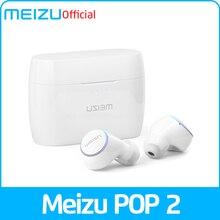 Глобальная версия Meizu POP 2, Bluetooth 5,0, наушники TW50S, беспроводные наушники IP5X, спортивные наушники-вкладыши, гарнитура для 16 лет