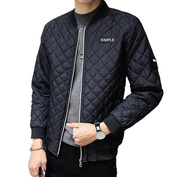 Fashion Men Coat Parkas Slim Fit Custom Parkas Crease Design Long Stylish Luxury Stand Collar 6XL Parkas Mens Autumn Light Homme фото