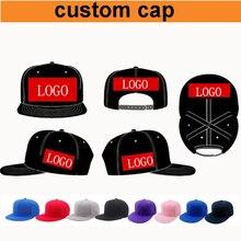 Dfkc Fabriek Gratis Verzending! Custom Cap Aangepaste Logo Cap, Volwassen Custom Snapback Caps 3D Bladerdeeg Borduren Logo, Oem Uw Ontwerp