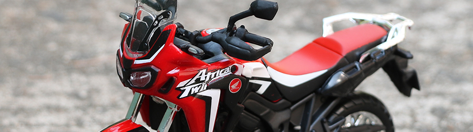 Africa Twin DCT CRF1000L Motorcycle Toy Model 19
