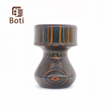 Boti Brush-Annual Ring Handle Men'S Shaving Brush Handle Wood Material Daily Beard Essentials Handmade Accept Customizatiion