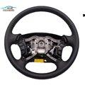 Para HYUNDAI Sonata NF NFC volante montaje cuero volante multifunción volante control remoto|Volantes y bocinas| |  -