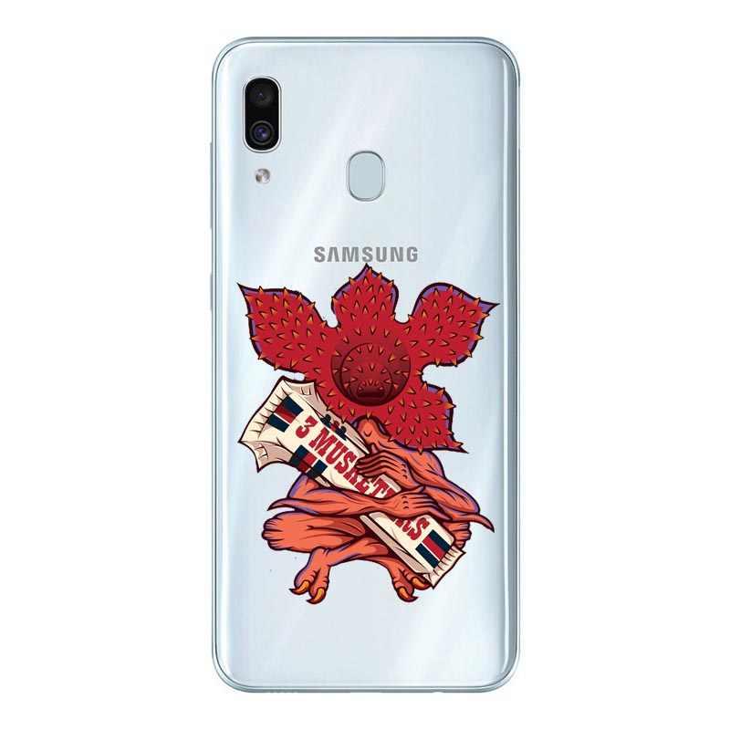 Người lạ điều mùa 3 Silicone Ốp Lưng Điện thoại Samsung Galaxy A30 A10 A50 2019 A7 2018 A6 A8 Plus A9 2018 A70 A80 TIVI Bao