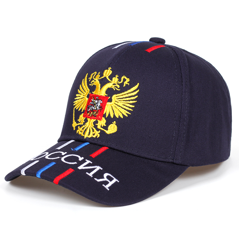 New Russian Hat With Embroidery For Women Men Russian Baseball Cap Unisex Sports Hat Cotton% Snapback Hats Casual Hats Wholesale