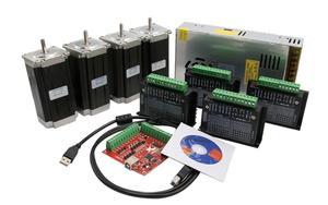 Image 5 - Free shipping linear guide HGR15/HGR20/SBR16/SBR20+ball screw SFU1605/1610+Nema23 stepper motor kit+spindle kit for cnc router