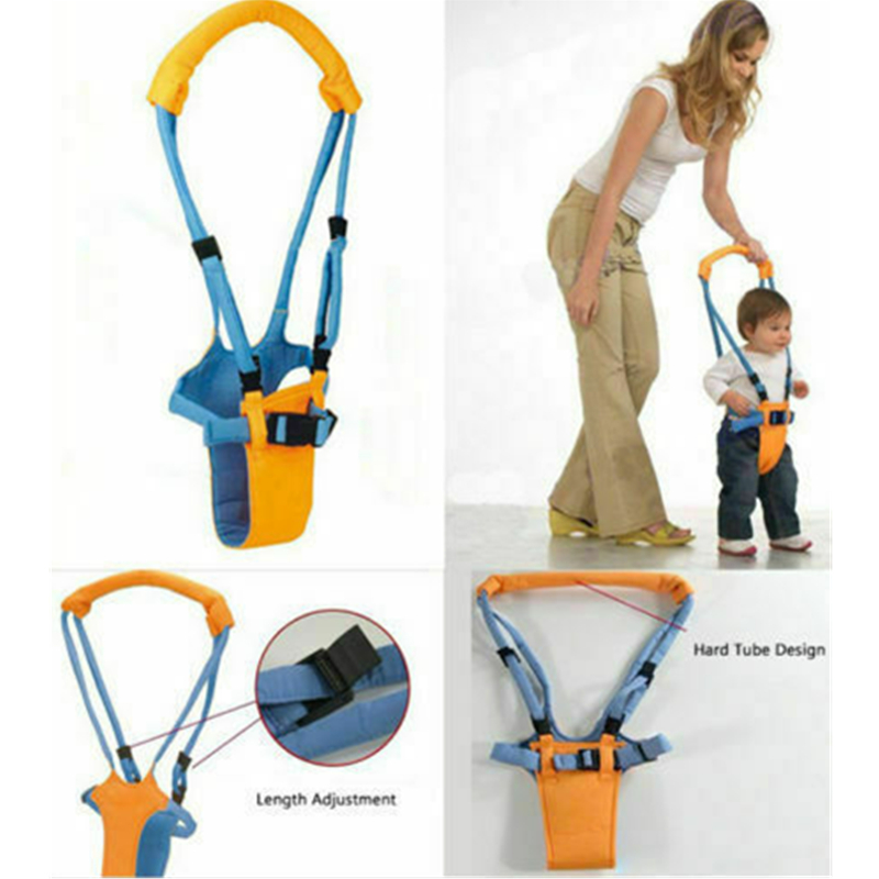 Baby Walker Assistant Toddler Kid Harness Bouncer Jumper Learn To Moon Walk Xmas