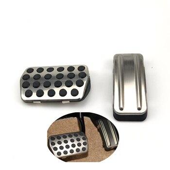 Accesorios de coche Pedal de acero inoxidable para Ford Focus KUGA Escape Escort c-max s-max Mondeo Fusion MK4 para Mazda3 para LINCOLN MKC