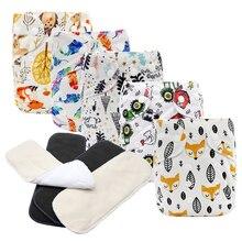 MABOJ подгузники тканевые подгузники детские карманные подгузники один размер водонепроницаемые подгузники многоразовые подгузники вставки для маленьких мальчиков и девочек