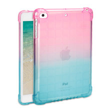 цена на Shockproof Silicone Cover For iPad Mini 1 2 3 4 5 2019 Case Soft TPU Transparent Protective Back Case For iPad mini 7.9 Inch