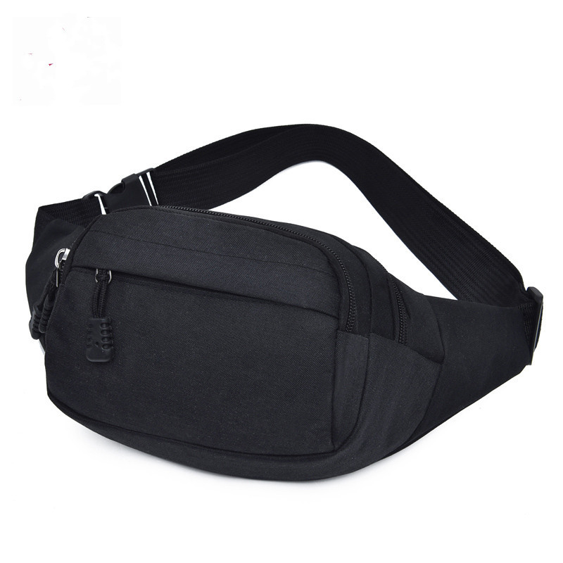 New Style Outdoor Sport Waist Bag Men's Canvas Large Capacity Casual Chest Pack Mountain Climbing Wearable Mobile Phone Bag