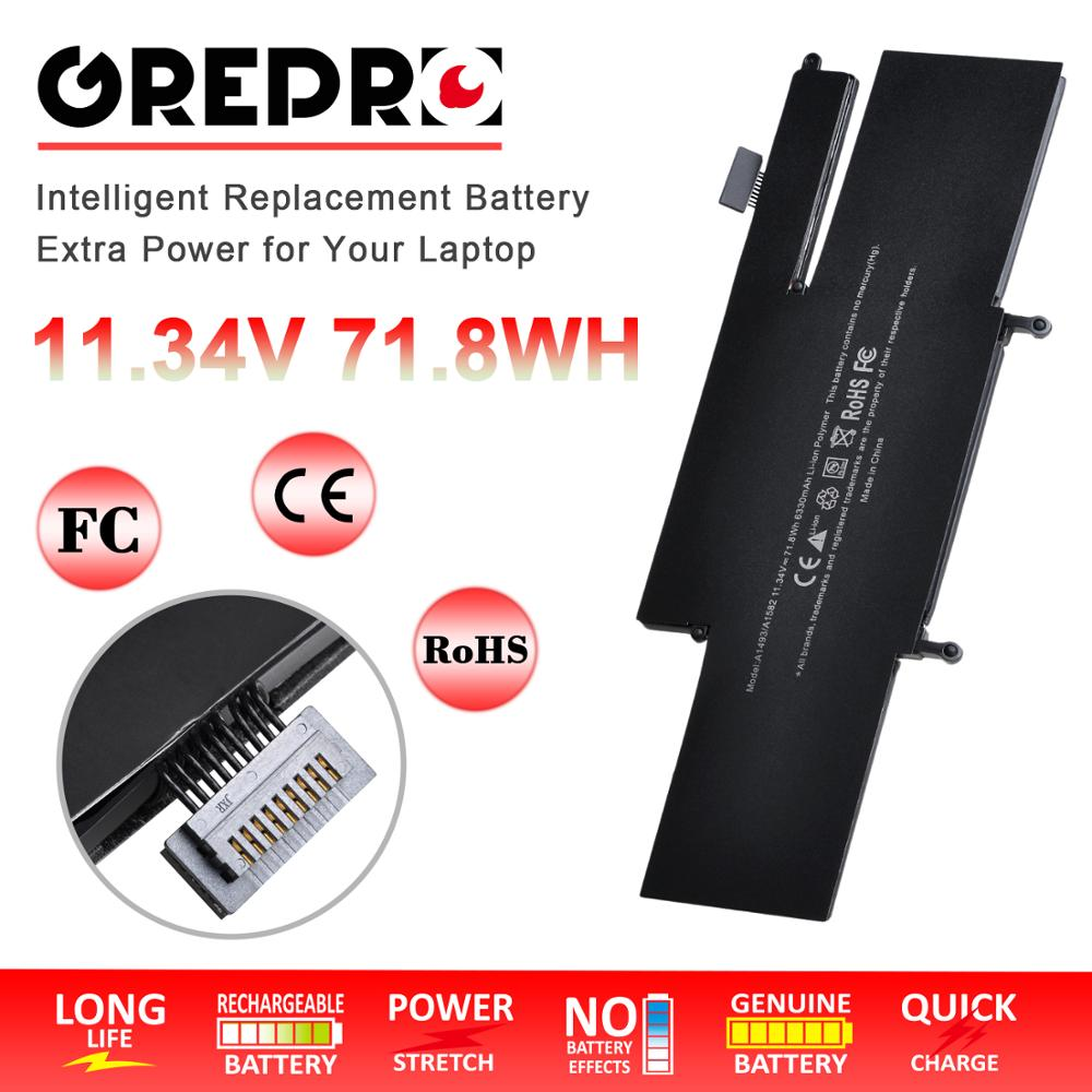 """6330mAh A1493 A1582 laptop battery for Apple Macbook Pro 13"""" Retina A1493 A1582 (A1502, Late 2013 Mid 2014 Early 2015) with Tool"""