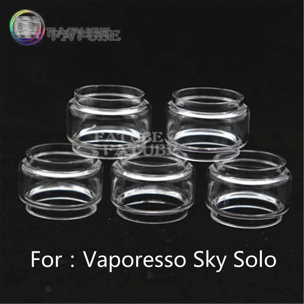 5pcs FATUBE Bubble Glass Cigarette Accessories For Vaporesso Sky Solo/ Vaporesso Sky Solo Plus