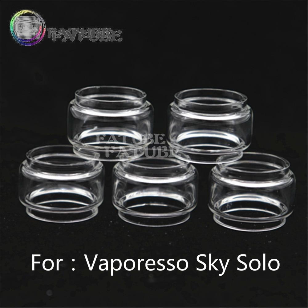 5pcs FATUBE Bubble Glass Cigarette Accessories For Vaporesso Sky Solo/ Vaporesso Sky Solo Plus