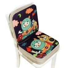 Booster Cushion Chair Kids Heightening Child Seat-Pad Increase-Mat Cartoon