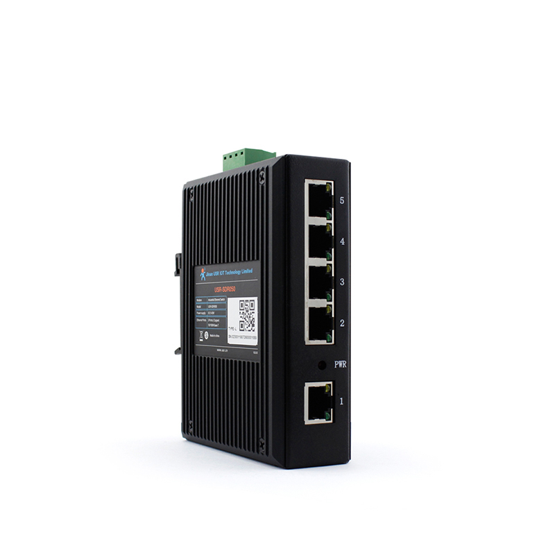Industrial Ethernet Switch Used For Modbus Rtu To Ethernet Gateway Ethernet Converter Ethernet Bridge For Sale.