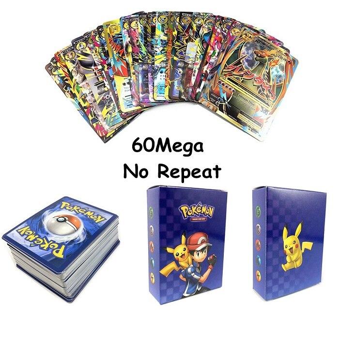 Новое поступление,, карточная игра с покемонами, битва карт, 25, 50, 100 шт, детские игрушки