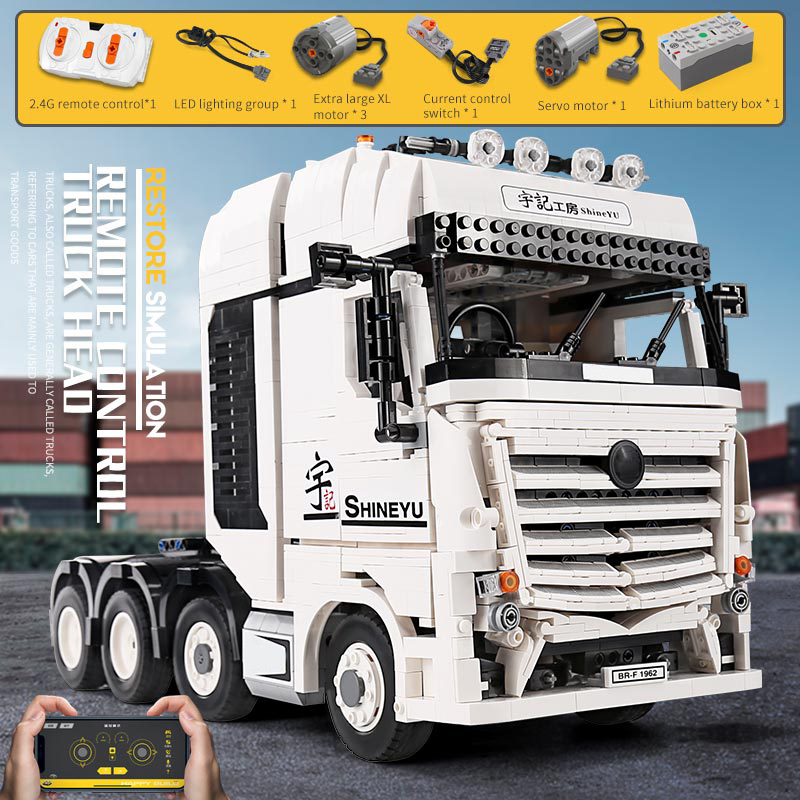 Yeshin APP High-Tech Car Model The 42043 Arocs Truck Compatible With 20005 Building Blocks