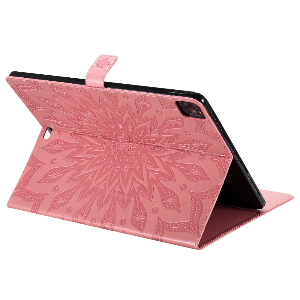 Flower Leather Embossed 2020 Pro 9 Protective Shell 3D for Case iPad Cover 12 Skin