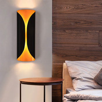 Modern LED Wall lamp 12W Aluminum Up Down Indoor Living Room Bedroom Corridor Wall light Outdoor Balcony Porch light AC85-265V