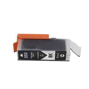 Image 4 - PGI550 CLI551 Compatible Ink Cartridges For Canon MG6350 MG7150 IP8750 Ip7250 printers PGI 550 CLI 551 PGI 550 CLI 551