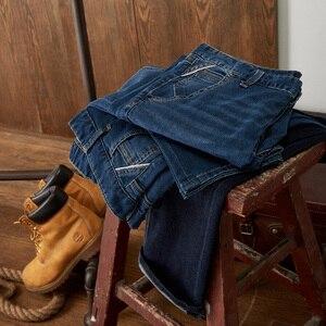 Image 4 - Metersbonwe ישר ג ינס גברים מזדמן ג ינס החורף חדש מזדמן נוער פשוט עיצוב מגמת Slim ג ינס Mens מכנסיים זכר מכנסיים