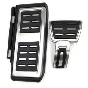 Image 2 - Stainless Steel Pedal For VW GOLF 7 GTi MK7 Lamando POLO A05 Passat B8 Skoda Rapid Octavia 5E 5F A7 2014+ Car Accessories