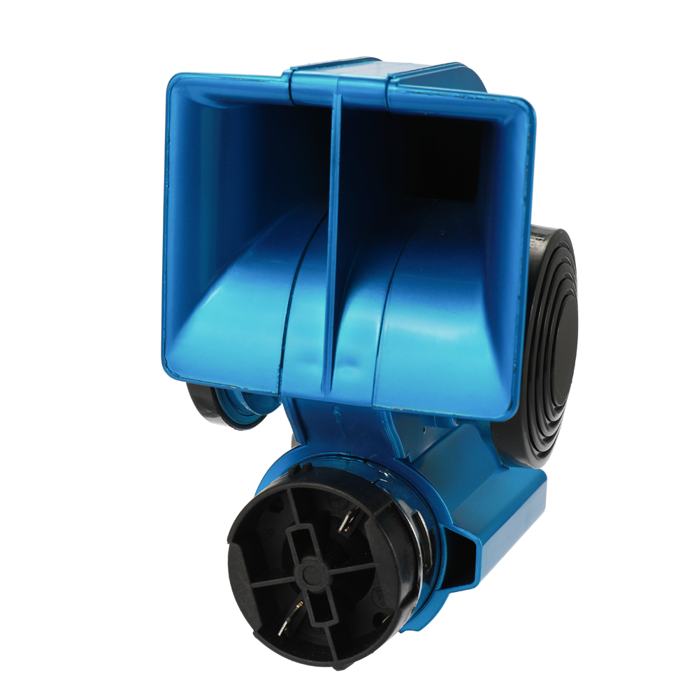 12V Dual Tone Car Air Horn Compressor Compact SUV Vehicle Motorcycle Boat