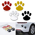 2 шт./компл. автомобильные наклейки, классный дизайн, лапы, 3D наклейки на следы животных, собак, следы, наклейки для защиты автомобиля