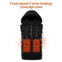 Куртка с подогревом 9 нагревательных мест куртка usb электрическая