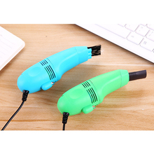 USB Mini Computer Keyboard Vacuum Cleaner Dust Cleaning Kit Handheld Keyboard Brush Device PC Laptop Portable Cleaners Brush